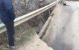 GALERIE FOTO: Un pod de pe un drum județean din Galați s-a prăbușit. Traficul se desfășoară pe o rută ocolitoare
