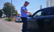 Poliția Rutieră a dat sancțiuni cu viteza de 8,5 amenzi pe oră
