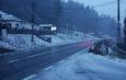 Ninge în centrul țării. Șoferii care pleacă la drum lung TREBUIE să aibă anvelope de iarnă