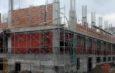 Departe, în zare, un spital răsare: la Gănești este aproape gata prima unitate medicală construită în județul Galați, după revoluție