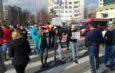 FOTO/ Faleza Dunării din Galați, blocată de gălățenii care vor autostradă