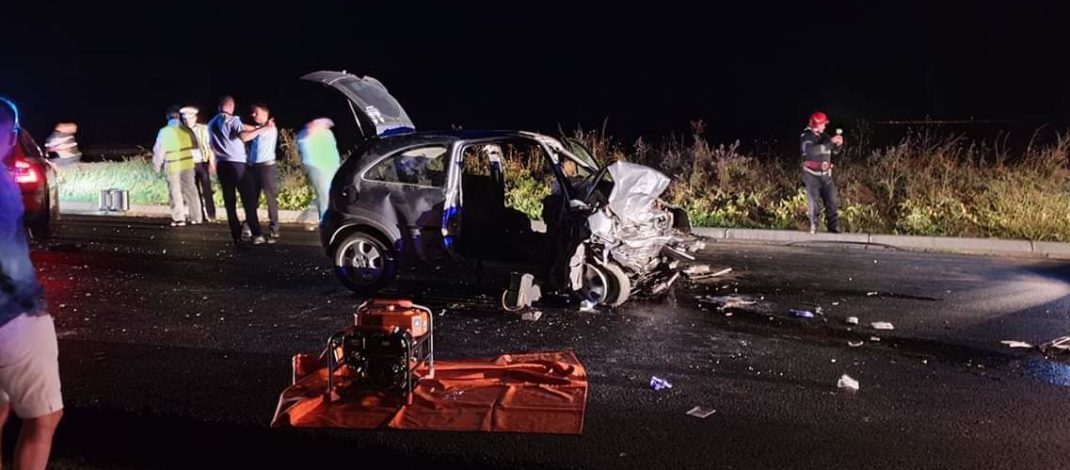 UPDATE: Accident pe DJ 251. Șase oameni au fost  răniți