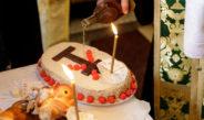 Un politician din Galați a scris La Mulți Ani pe colivă